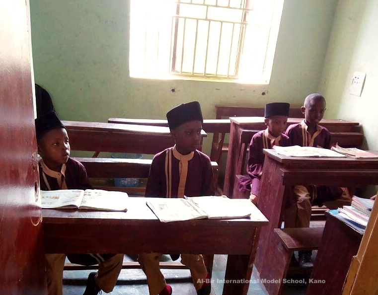 Pupils in class 3